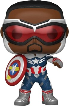 The Falcon and the Winter Soldier - Capt America Year of the Shield US Exclusive Pop! Vinyl [RS]