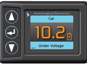 FULLY INSTALLED - Hummingbird HMRF2000B - Battery & Breakaway Monitor