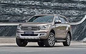 FULLY INSTALLED - Ford Everest Integrated Front Parking Camera - SYNC 3