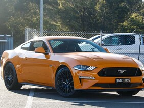 FULLY INSTALLED - Ford Mustang Integrated Front Parking Camera - SYNC 2/3