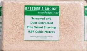 Breeders Choice Woodshavings Small 14kg