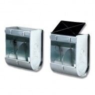 Bainbridge Twin Compartment Feeder with Lid