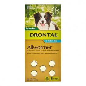 Drontal Med Dog Tablet x6