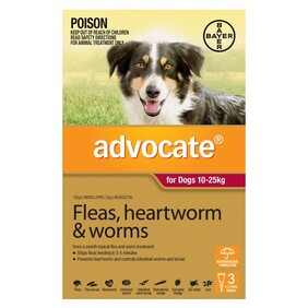 Advocate Dog 10-25kg 3's