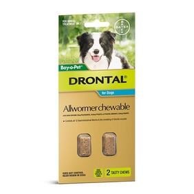 Drontal Chew 10kg x 2
