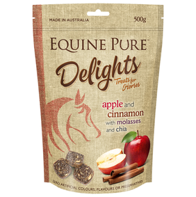 Equine Pure Delights Apple & Cinnamon 500g
