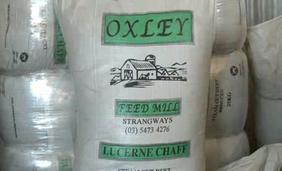Oxley Lucerne Chaff 25kg