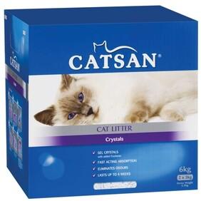 Catsan Crystal Cat litter 6kg