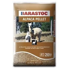 Barastoc Alpaca Pellets