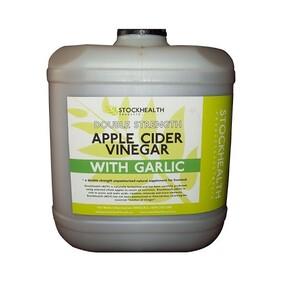 Stock Health Apple Cider + Garlic 20L