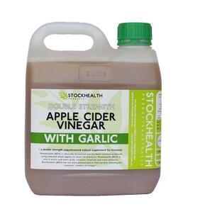 Stock Health Apple Cider + Garlic 2L