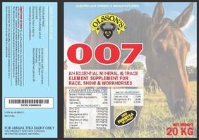 Olssons 007 Block 20kg