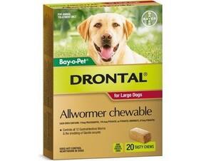 Drontal Chew 35kg x 20