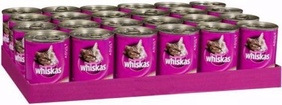 Whiskas Cans 24 x 410g