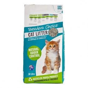 Breeders Choice Cat Litter 30L