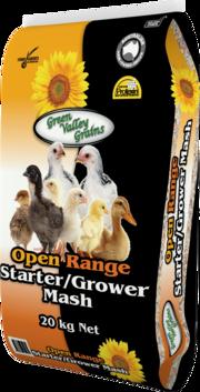 Green Valley Starter/Grower mash 20kg