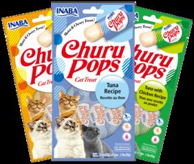 Inaba Churu Pops Cat 6 pack