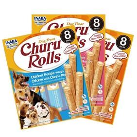 Inaba Churu Roll Dog 8 pack 96g