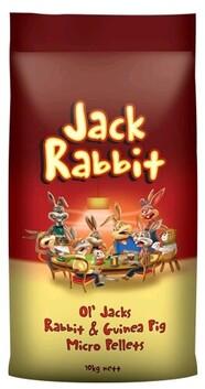 OL Jack Rabbit and Guinea Pig Micro pellet 10kg