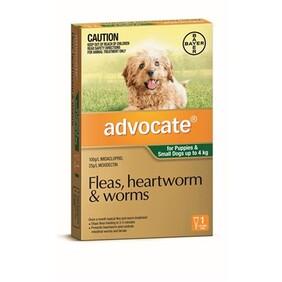 Advocate Dog 0-4kg 3's