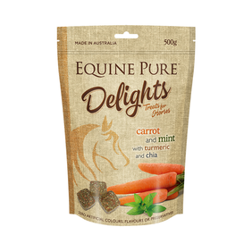 Equine Pure Delights 500g Carrot & Mint