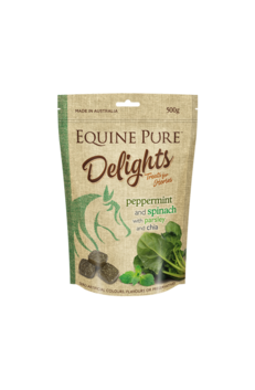 Equine Pure Delights Peppermint & Spinach 500g