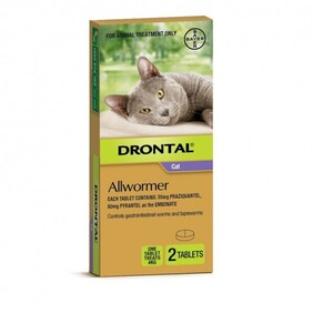 Drontal Cat Allwormer 4KG x 2