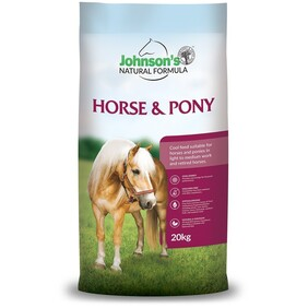 Johnsons Horse and pony