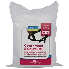 Kelato Cotton & Gauze Roll 250g