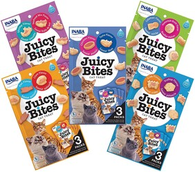 Inaba Juicy Bites Cat 6 pack