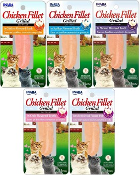 Inaba Chicken Fillet Cat 6 pack
