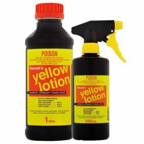 Ranvet Yellow Lotion 1L