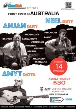 Anjan Dutt Live - Silver - Dress Circle