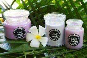 Lushess Lavender Candle Range