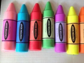 Crayon Goats Milk Soap 5 Pack