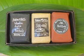 Earth Range 3 Bar Assorted Gift Box Set - Olive Oil Soaps