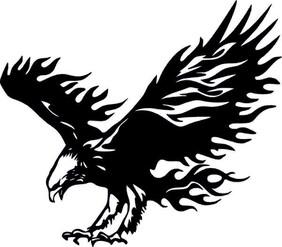 flame eagle