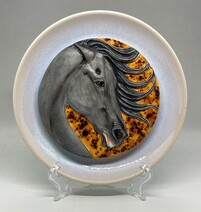 PPP Deluxe - Serene Horse Plaque, Realistic