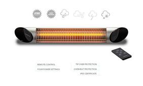 Veito Blade 2000W Silver Heater