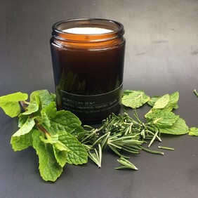 Moroccan Mint Soy Wax Candle