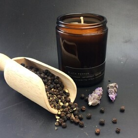 Black Pepper Soy Wax Candle