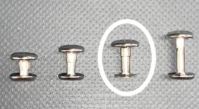 2 Piece Rivets 12mm – 50 per Pack - N81012