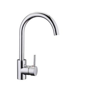 Pino Goose Neck Sink Mixer - Chrome - WELS 4 Star 7.5 L/M - Code: 4188