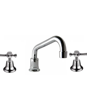 Whitehall | Lever Action Hob Sink Set - Low Rise Outlet - CD - Chrome - Code: 2008