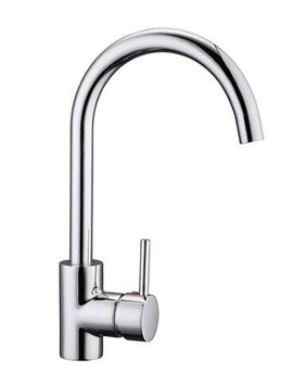 Laundry Mixer | Pino Goose Neck Sink Mixer - Chrome - WELS 4 Star 7.5 L/M - Code: 4188-1