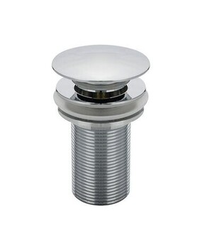 Basin Waste | Standard | 32 x 75mm Pop Up Waste - Non-Overflow - Dome - Chrome - Code: DP3275