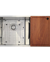 @Kitchen Sink | Compatto Double Bowl760x440x225mm - 304 S/Steel Radial Cnr Sink - Code: TKS-C400RA