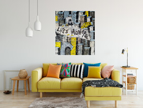 (SOLD) Life's Monopoly Original Painting