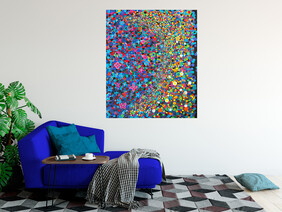 (Available Now) Spiritual Dreaming 105cm x 85cm