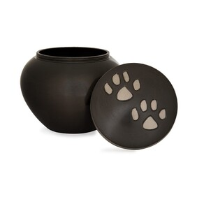 Odyssey Pet Urn Antique/Slate Pewter Paws